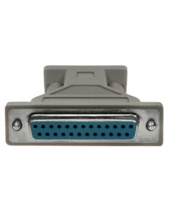 DB9 Male to DB25 Female Serial Adapter
