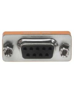 DB9 Male to Female Null Modem Mini Adapter