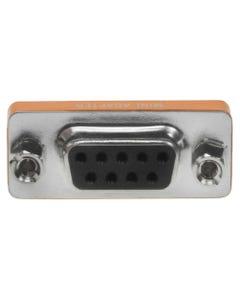 DB9 Female to Female Null Modem Mini Adapter