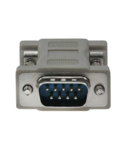 DB9 Male to HD15 Female VGA Adapter Molded