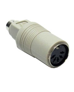 PS/2 (MiniDin6) Male to AT (Din5) Female Keyboard Adapter