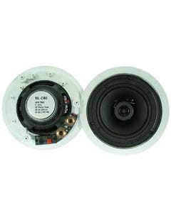 "6-1/2"" 2-Way Ceiling Speaker BLC60, Pair (2pc)"