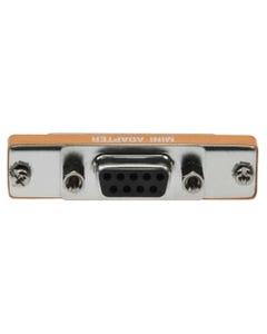 DB9 Female to DB25 Female Serial Mini Adapter