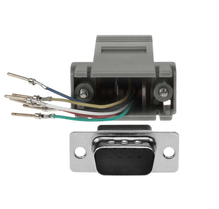 Schema Cablaggio Rj12 : Db9 male to rj11 12 6 wire modular adapter sfcable