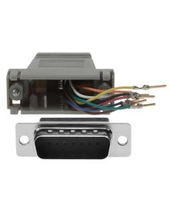 DB15 Male to RJ45 Modular Adapter