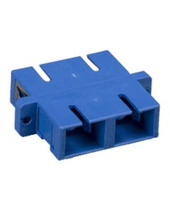 SC to SC Mulitmolded Duplex Adapter Plastic Body
