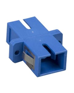SC to SC Mulitmolded Simplex Adapter Plastic Body