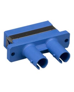 ST to SC Mulitmolded Duplex Adapter Plastic Body