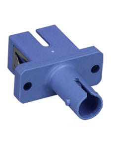 ST to SC Mulitmolded Simplex Adapter Plastic Body