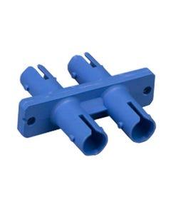 ST to ST Mulitmolded Duplex Adapter Plastic Body