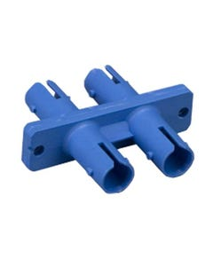 ST to ST Mulitmolded Duplex Adapter Plastic Body
