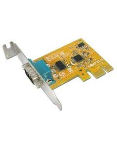 1-port DB9 Male RS-232 PCI Express Low Profile Board