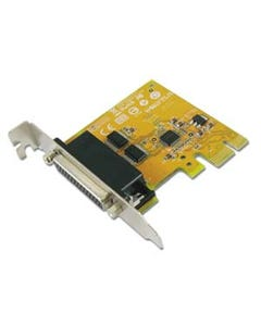 2-port DB9 Male RS-232 Low Profile PCI Express Board