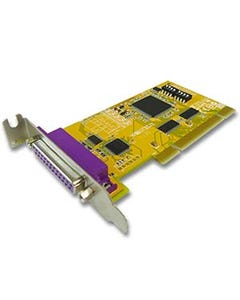 1 Port Remap DB25 IEEE1284 Parallel Low-Profile Universal PCI Card