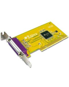 1 Port DB25 Female IEEE1284 Parallel Universal Low-Profile PCI Card