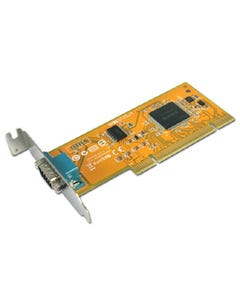 1-port DB9 RS-232 Male Universal PCI Serial Remap Board