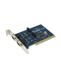 2-port Industrial RS-422/485 Universal PCI Board with Surge & Isolation
