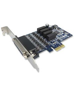 4 Ports Industrial RS-422/485 w/ Surge & Isolation PCI-Express Serial Card
