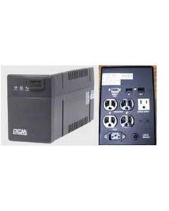 Powercom UPS Battery Backup BNT-1000CS, 4 UPS+2 Surge 1000VA/600W