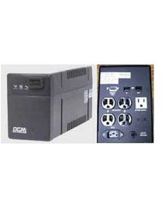 Powercom UPS Battery Backup BNT-1000CS, 4 UPS+2 Surge 1000VA/600W