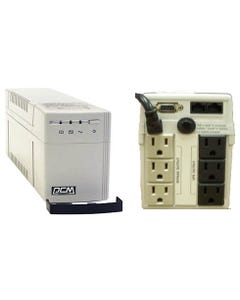 Powercom UPS Battery Backup KIN-625CS, 625VA, 3+3 Outlets