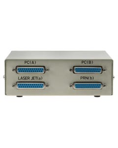 2-Way IEEE 1284 DB25 Manual Switch Box