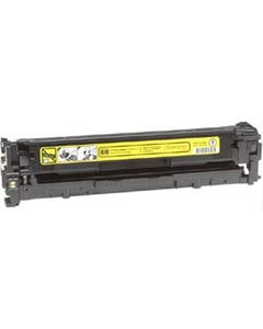 Replacement Yellow Toner Cartridge for HP CB542A