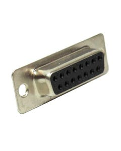 DB15 Female Solder Cup Connector Tin Plated