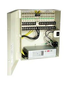 18 Port DC12V 12Amps Power Supply Box UL, OA-P12DC18PUL-12