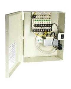 9 Port AC24V 4Amps Power Supply Box w/ Resetable Fuses, OA-P24AC9P-4
