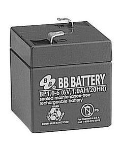 6V 1Ah Battery T1 Terminal, BP1.0-6-T1