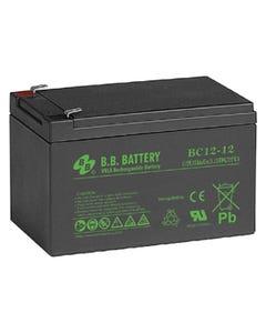 12V 12Ah Battery T2 Terminal, BC12-12-T2