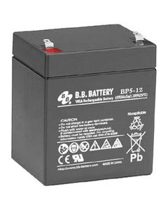 12V 5Ah Battery T1 Terminal, BP5-12-T1