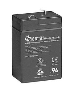 6V 4Ah Battery T1 Terminal, BP4-6-T1