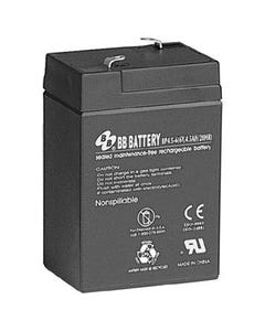 6V 4.5Ah Battery T1 Terminal, BP4.5-6-T1