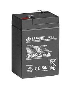 6V 5Ah Battery T1 Terminal, BP5-6-T1