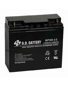 12V 20Ah Battery B1 Terminal, BP20-12-B1