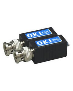 Video Balun BNC to UTP Terminal w/Filter Pair