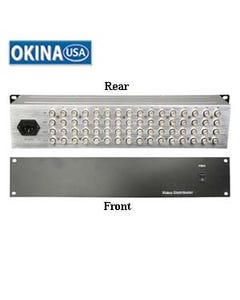 16 Input 48 Output Video Amplifier Okina VD16248BNC