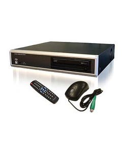 4CH Standalone DVR Server with DVD/RW USB Backup