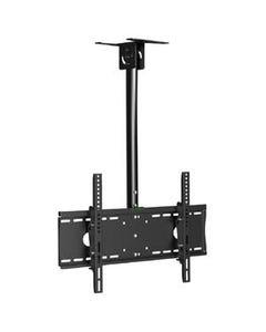 """Flat TV Ceiling Mount Adjustable Pole Angle 32""""~55"""" Tilt, BCEM101M"""