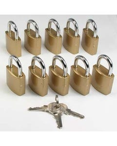 Padlock for Lockable Series, 10 Pack
