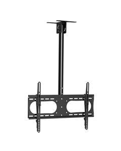 """Flat TV Ceiling Mount Adjustable Pole Angle 37""""~65"""" Tilt, BCEM237M1"""