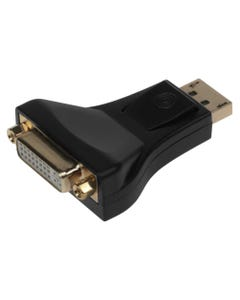 DisplayPort Male to DVI Female (DVI-I 24+5) Converter Adapter Dual Link
