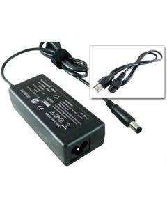 Replacement HP 65Watt AC Adapter Charger 18.5V 3.5A (Smart-Pin)