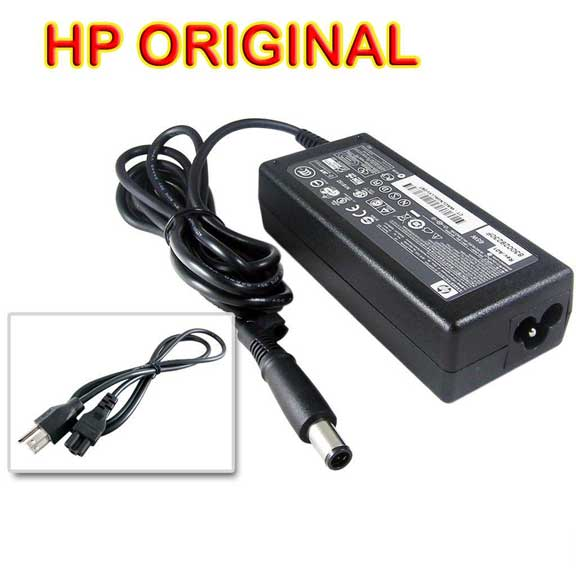 Original HP 65Watt AC Adapter Charger 18.5V 3.5A (Smart-Pin)