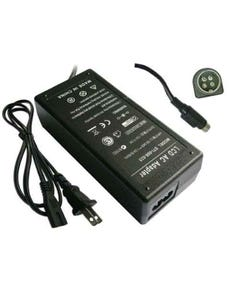 Replacement LCD 60W 12V 5A AC Adapter 4-Pin Din
