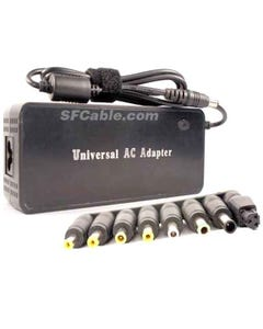 Universal Laptop AC Adapter 120W Variable 7 DC Voltages Output