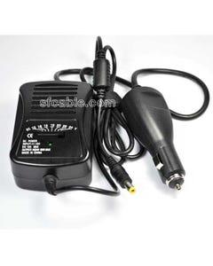 Universal Laptop Car Charger 90Watt Variable 7 DC Voltages Output