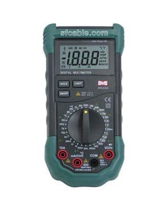 Digital Multimeter Volt Ohm Amp Tester Mastech MS8264 Manual 30-Range